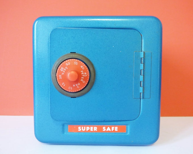 Super Safe money box Vintage by Peter Pan