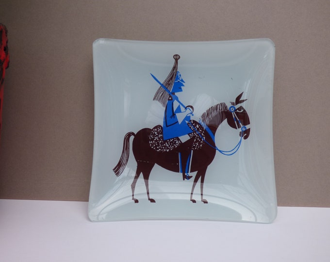 Kenneth Townsend trinket dish Chance Glass.