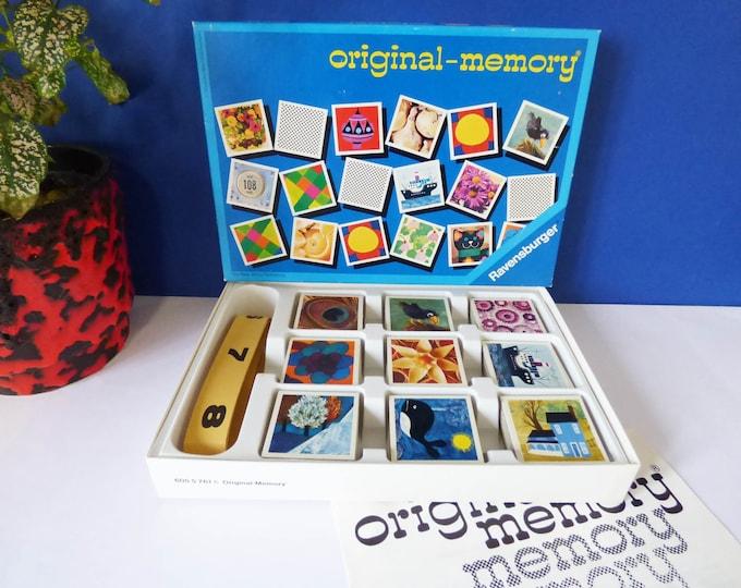 Complete 1974 Ravensburger memory game Eames