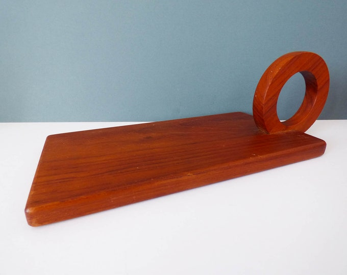 Teak Danish chopping / cheese board