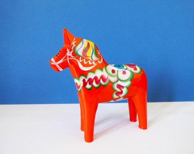 Vintage Dala horse from Sweden