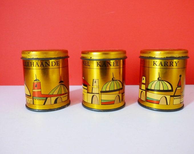 Danish Spice tins / jars