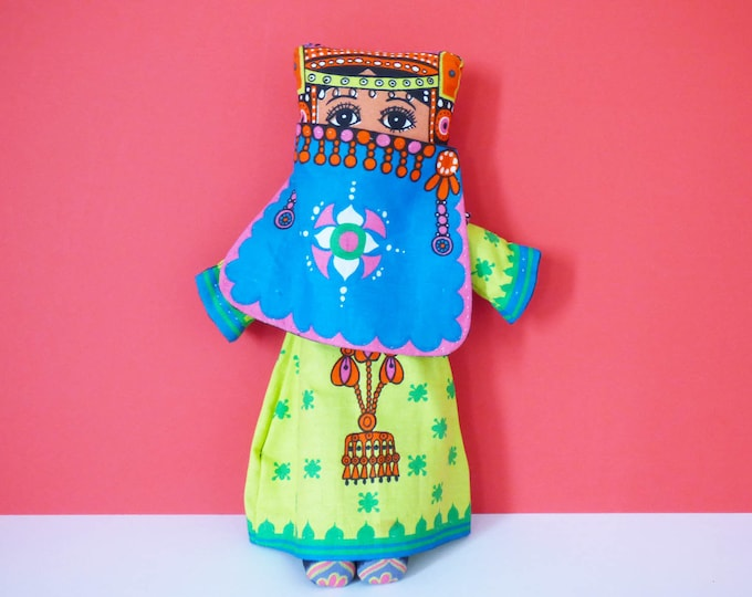 Vintage Cloth doll by Belinda Lyon for Oxfam UK