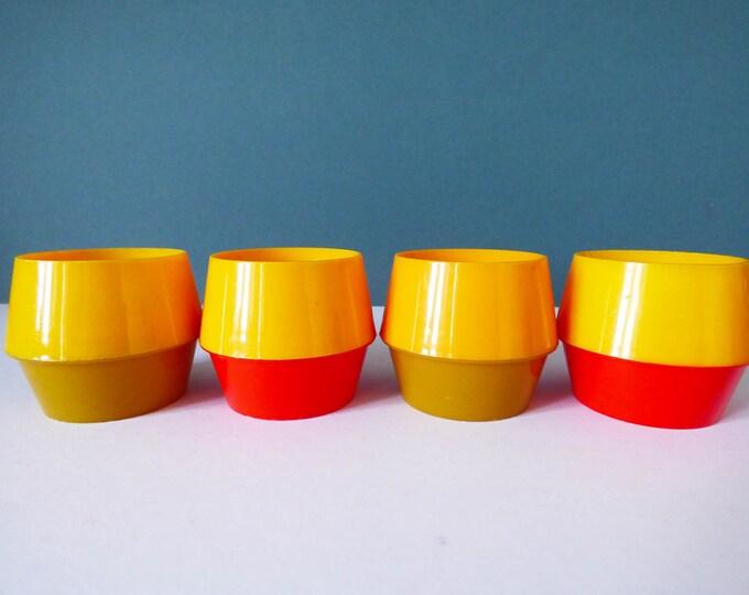 Vintage Eggcups by Hammar Plast of Sweden
