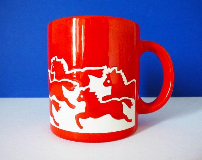 Waechtersbach Mug Horse Design Vintage