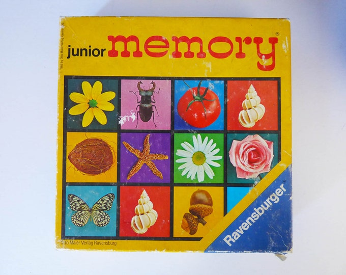 1969 Junior memory game Ravensburger