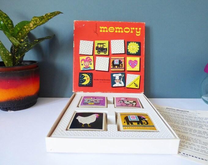 1960's Junior memory game Ravensburger