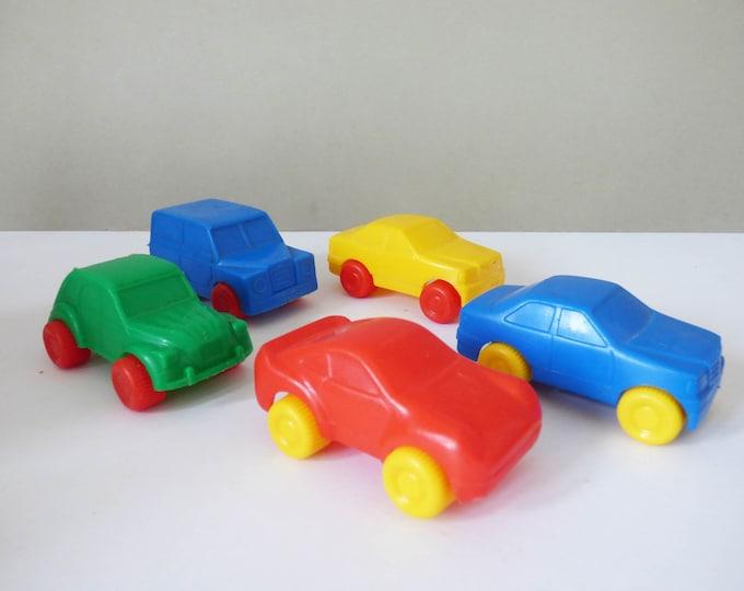 Plastic cars 1980s from Denmark HP Plast DK Hobro
