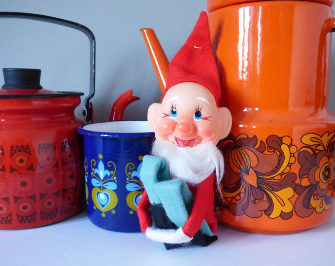 Elf Christmas Decoration  Pixie Gnome Vintage