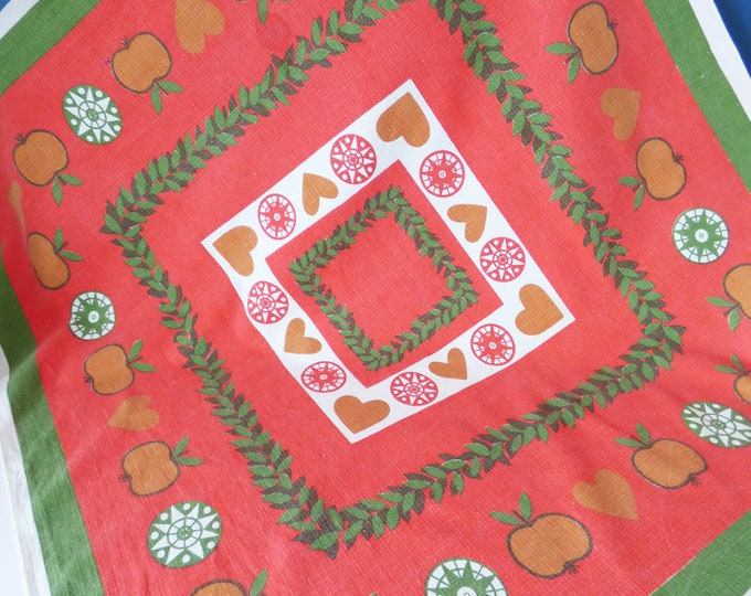 Vintage  tablecloth Scandinavian