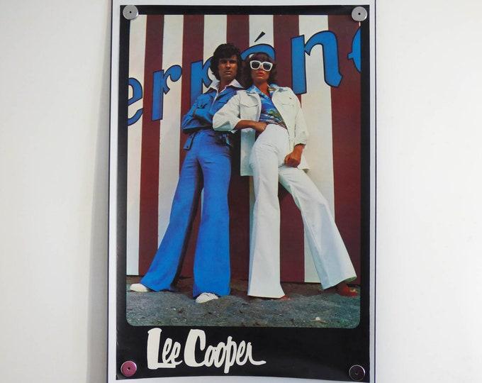 1970's Lee Cooper jeans poster Linder Max Original