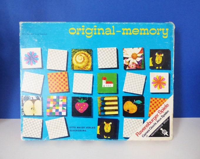 Original memory game Charles Eames cards 1960's