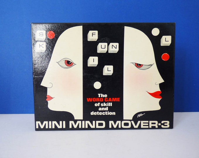 Mini Mid Movers Game Vintage 1970s