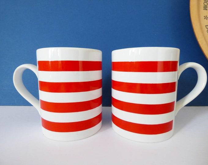 Staffordshire potteries Kilm craft mugs