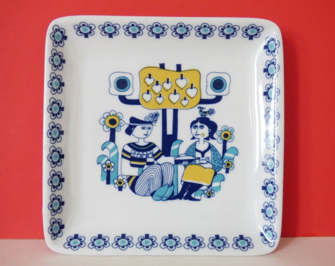 Vintage Plate From Maastricht Mosa of Holland
