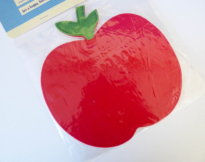 Mouse mat Apple shaped