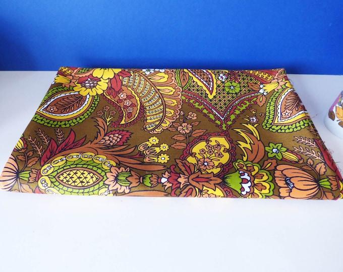 Fabric 1960s Sunlover Screen prints on Cotton Satin 1.20m x 1.40m