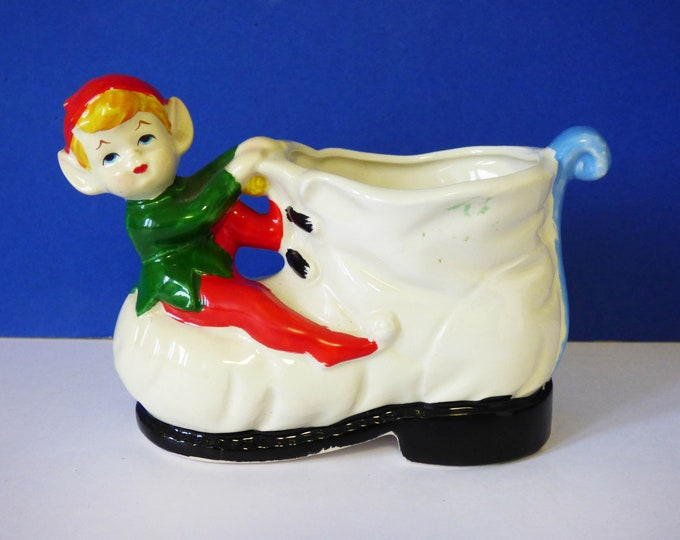 Elf / Pixie Planter Vintage plant pot.
