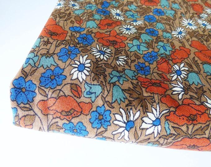 Libery's bedspead single sized unused fabric material 70s