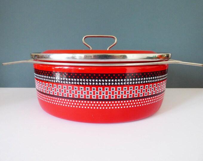 Siltal Enamel casserole dish Carla Agnelli