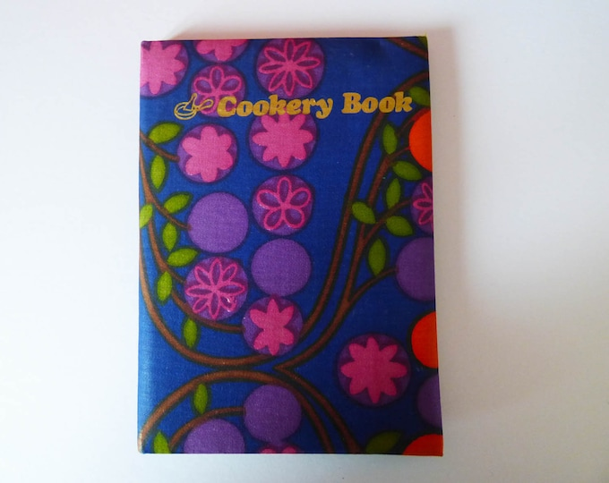 Vintage note book for Recipes un-used