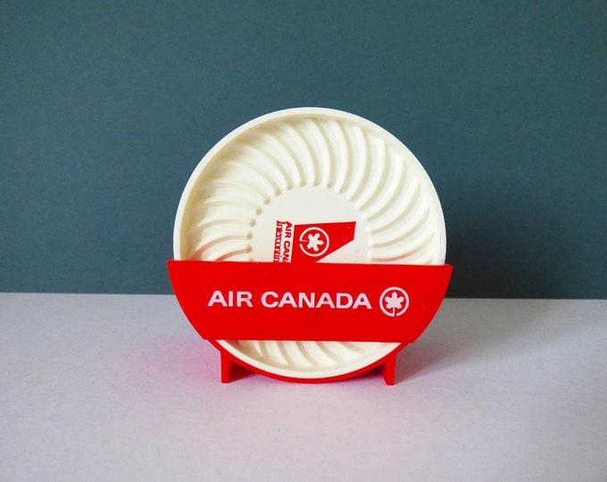 Air Canada coasters vintage