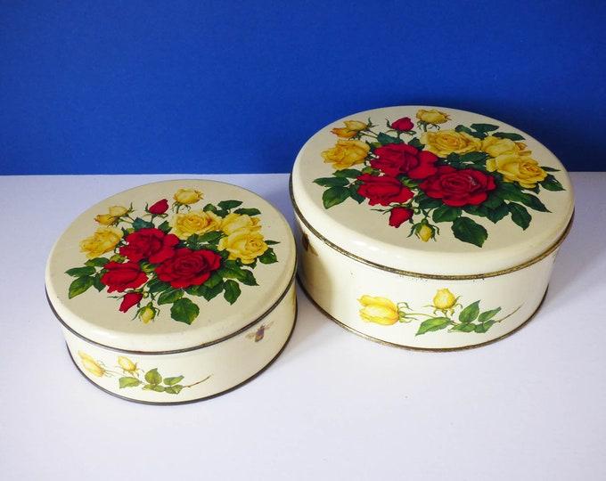 Storage Tins Vintage cake tins Danish