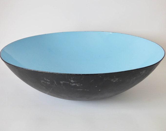 """Huge Krenit bowl Herbert Krenchel Torben Ørskov 15"""" 38cm diameter"""