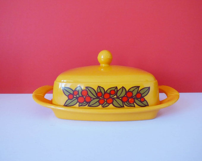 Butter dish from Emsa West German Vintage