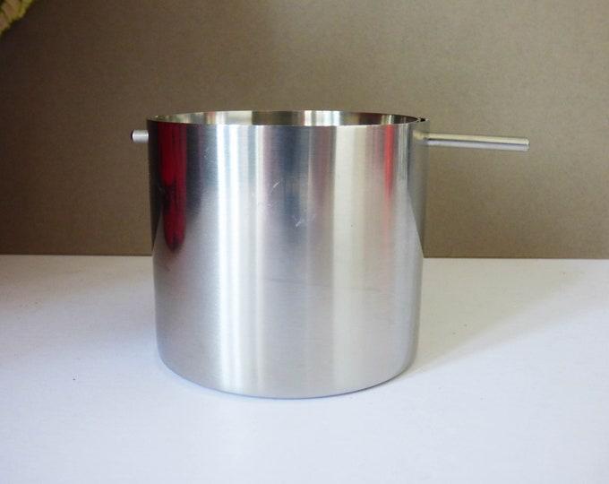 Vintage Stelton Arne Jacobsen ashtray cylinder line