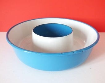Glud Marstrand Enamel Ring Madam Blue large version Vintage