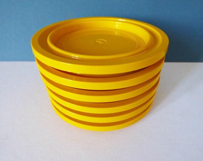 1970's original  Plastic coasters fromItaly