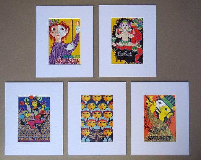 Bjorn Wiinblad Mount Framed Print (3)