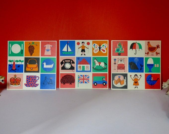 Galt toys lotto picture boards - wall art