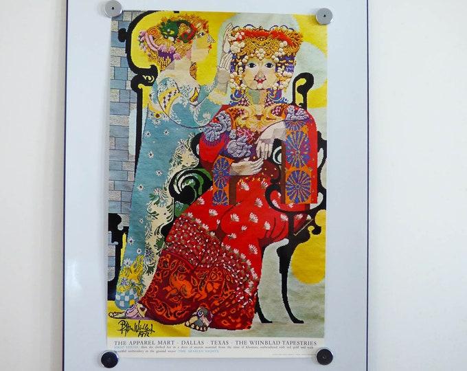Bjorn Wiinblad Poster Arabian nights First theme 1973 print
