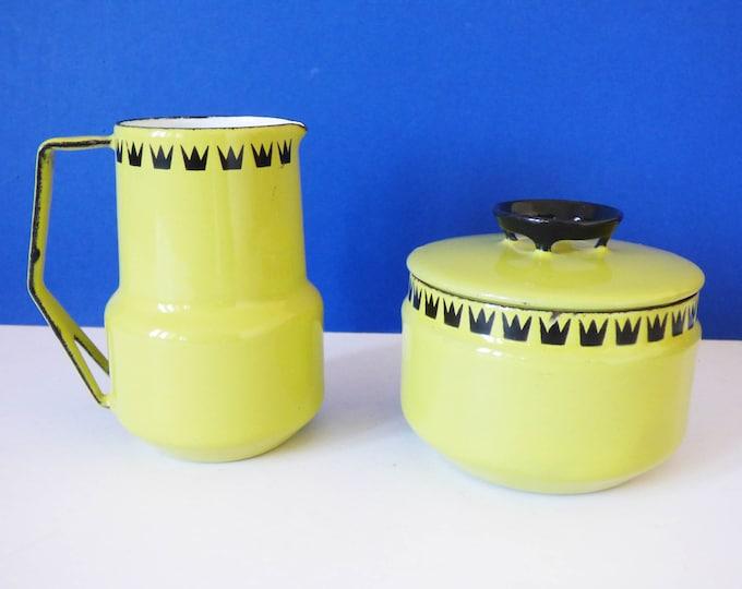1960's Glud Marstrand Dan Kok Milk jug and suger bowl
