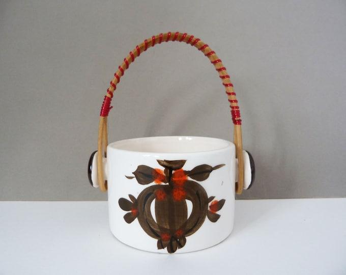 Vintage sugar / jam pot from Holland