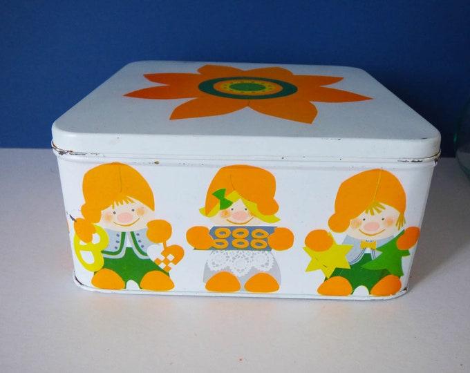 Grete Rich Cake tin for Sven Thernoe Denmark