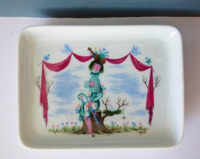 Mini plate Raymond Peynet Rosenthal Studio-line Germany