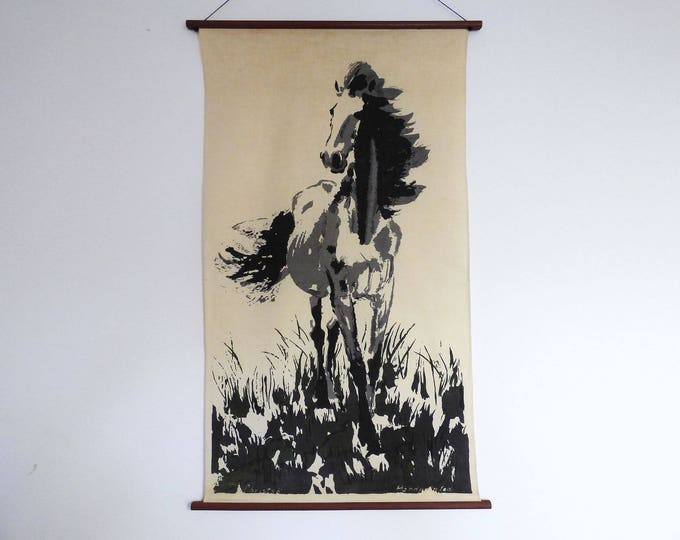 currently reserved Horse Wall hanging Christso Danish Denmark