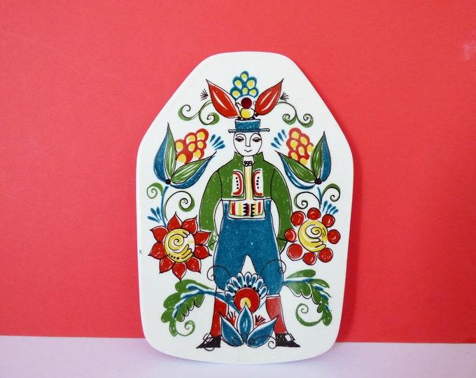 Figgjo Flint butter plaque from Norway