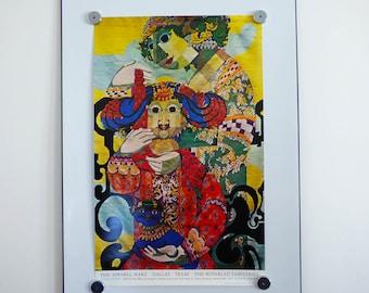 Bjorn Wiinblad Poster Arabian nights Third theme 1973 print
