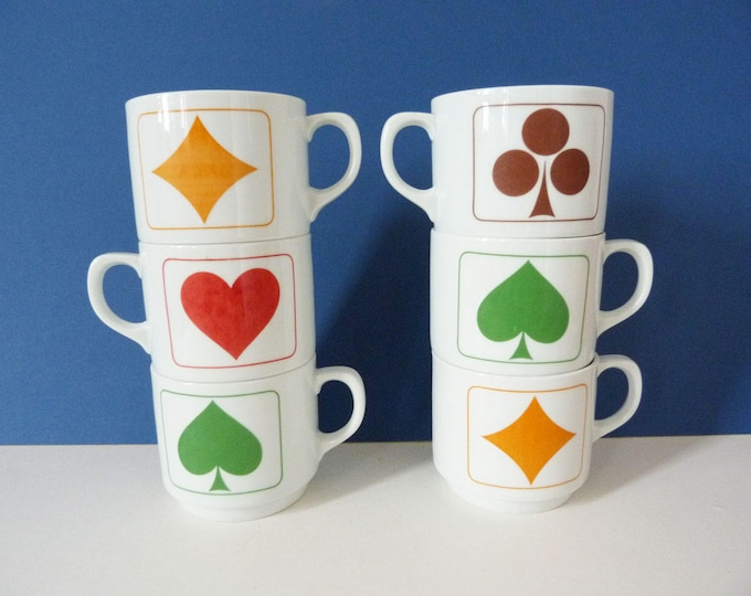 1970's mugs Bavaria West German