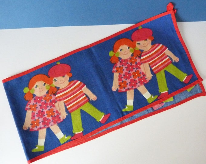 Vintage Scandinavian children's wall hanging