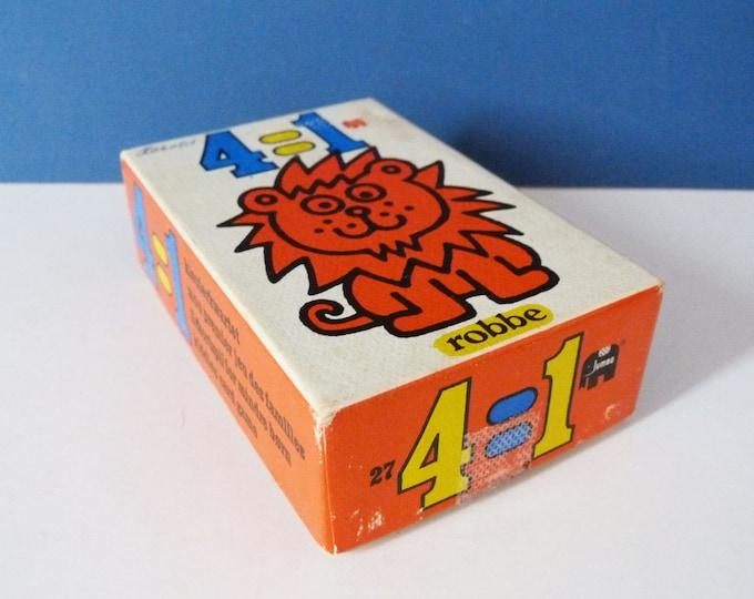 1970's  card game robbe 4=1 Dutch