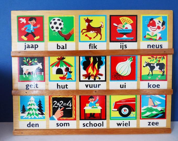 Vintage Dutch Game board