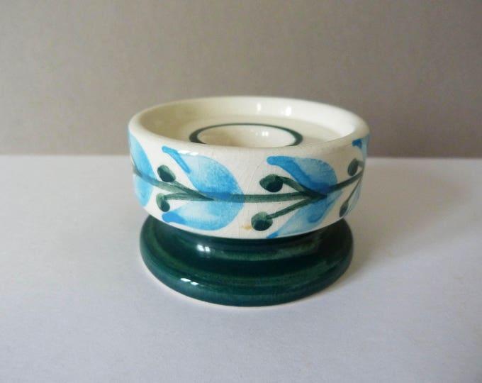 Vintage Jersey pottery candle holder