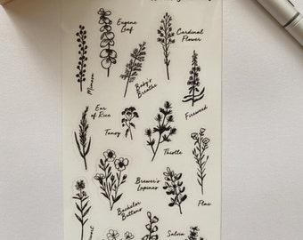 Wildflower No.1 Sticker Sheet