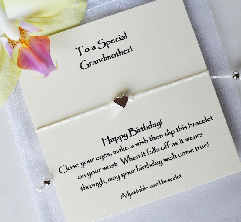 Godmother Birthday Wish Granddaughter Grandma