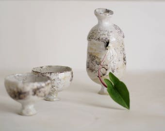 Marbled vessel